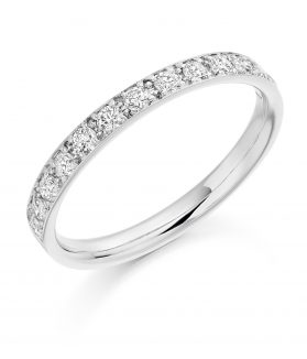 Vintage Grain Eternity Set Ring - TCHET2094